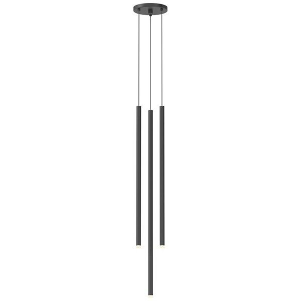 Light Chimes 3-Light Assorted LED Cluster Pendant
