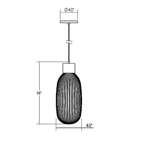 Friso LED Pendant