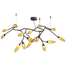 Vines LED Semi-Flush Mount