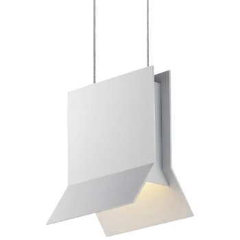 Shown in Textured White finish