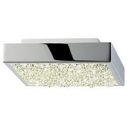 Dazzle Square LED Flushmount