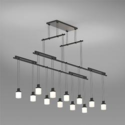 Suspenders 48 Inch 2-Tier Tandem LED Lighting System - Drum