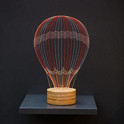 Hot Air Balloon LED Table Lamp