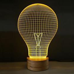 Yellow Bulb LED Table Lamp