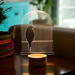 Bird Cage LED Lamp