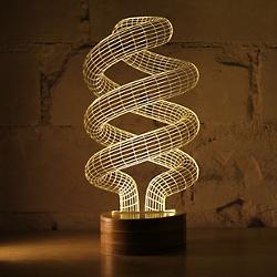 Spiral LED Table Lamp by Studio Cheha - OPEN BOX RETURN