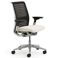 Redesigned Think Chair in 3D Fabric - Black/Color