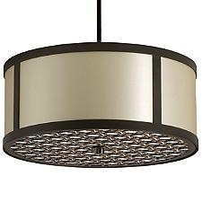 Brentwood Bottom Pattern Round Pendant