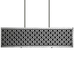 Brentwood Side Pattern Rectangle Linear Suspension