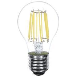 8W 120V A19 E26 LED Filament Bulb
