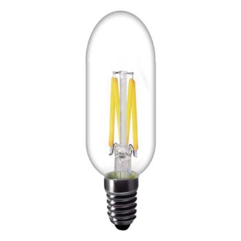 4W 120V T25 E12 LED Filament Clear Bulb