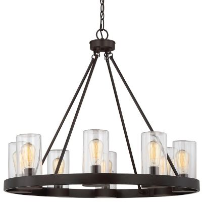 Inman 8 Light Indoor/Outdoor Chandelier