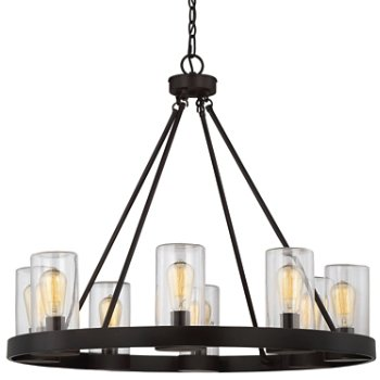 Inman 8-Light Indoor/Outdoor Chandelier by Savoy House at Lumens.com