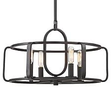 Santina Pendant/Semi-Flushmount Light