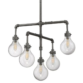 Dansk 5-Light Chandelier