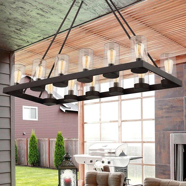 Inman Indoor/Outdoor Linear Suspension