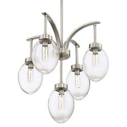 Ravenia 5 Light Chandelier (Satin Nickel) - OPEN BOX RETURN