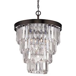Tierney Chandelier (Burnished Bronze/4 Lights) - OPEN BOX