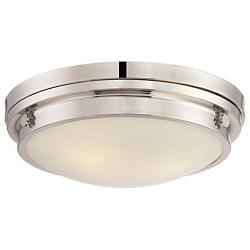 Lucerne Flushmount (Polished Nickel/Large) - OPEN BOX RETURN