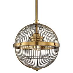 Arena Pendant Fan (Warm Brass) - OPEN BOX RETURN