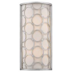 Triona Wall Sconce (Silver Leaf) - OPEN BOX RETURN