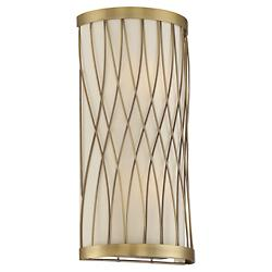 Spinnaker Wall Sconce (Warm Brass) - OPEN BOX RETURN