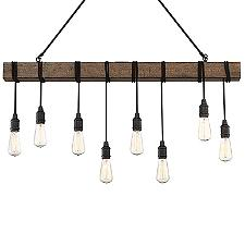 Burgess 8-Light Linear Chandelier