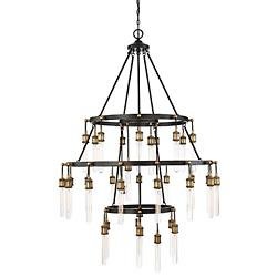 Campbell 35-Light Chandelier