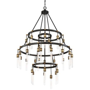 Shown in Vintage Black with Warm Brass finish