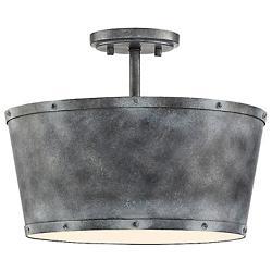 Dover 3-Light Semi-Flushmount