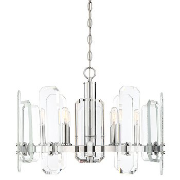 Harrow 6 light chandelier