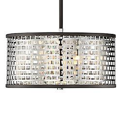 Leeds 3-Light Convertible Pendant/Semi-Flushmount