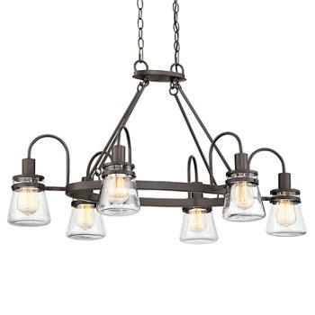 Portsmouth 6-Light Outdoor Linear Suspension