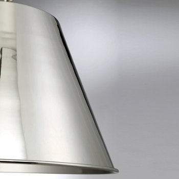 Shown in Polished Nickel finish, Small size, Detail view
