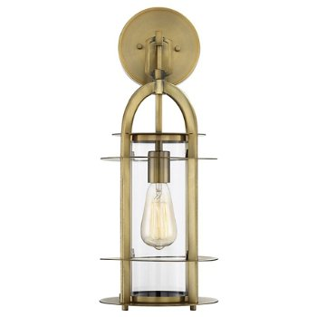 Shown in Warm Brass finish, Large size