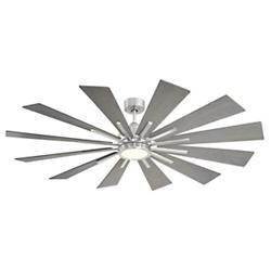 Farmhouse 60 in LED Ceiling Fan