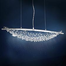 Amaca LED Linear Chandelier Light