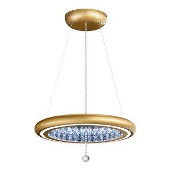 Shown in Glimmer Gold finish, Medium size