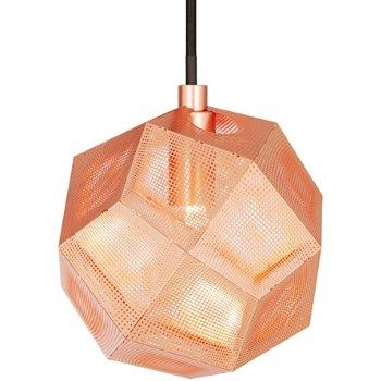 Shown lit in Copper finish
