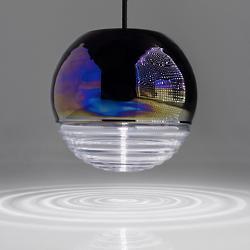 Flask Oil Ball Pendant