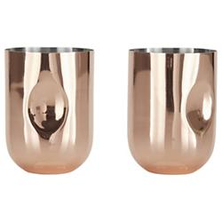 Plum Moscow Mule Glass Set of 2