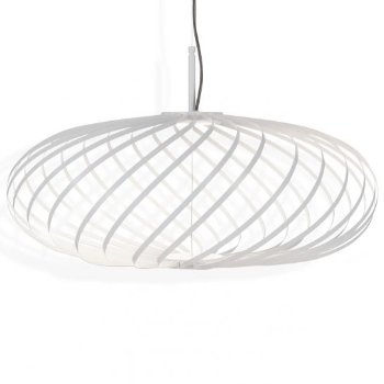 Shown in White finish, Small size, lit