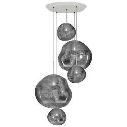 Melt Large Round Multi-Light Pendant