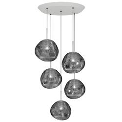 Melt Mini Round Multi-Light Pendant