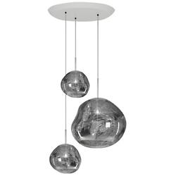 Melt Trio Round Multi-Light Pendant