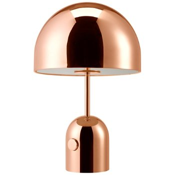 Shown unlit in Copper finish, Small size