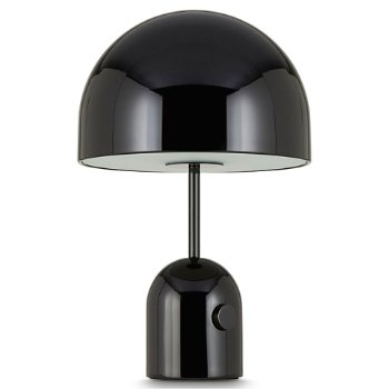 Shown unlit in Black finish, Small size