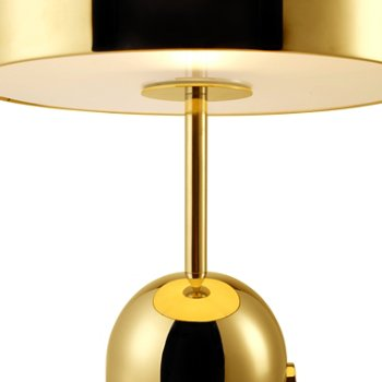 Shown lit in Brass finish