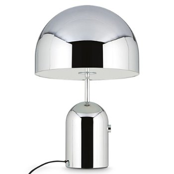 Shown unlit in Chrome finish, Large size