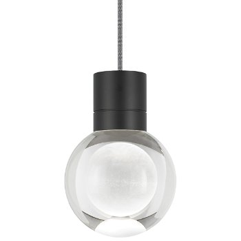 Shown in Black finish, Black and White Cord